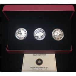 2013 $20 3-Coin Set: Birth of the Royal Infant