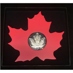 2015 $20 The Canadian Maple Leaf - Maple Leaf Shape