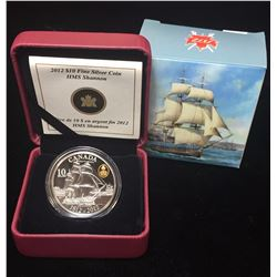 2012 $10 War of 1812 - HMS Shannon