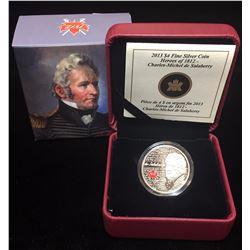 2013 $4 Heroes of 1812: Charles Michel De Salaberry