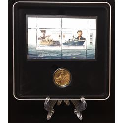 2010 100th Anniversary of the Canadian Navy Coin and Stamp Set (SEALED)