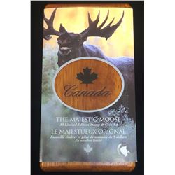 2004 $5 Majestic Moose Stamp & Coin Set