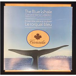 2010 $10 The Blue Whale Coin and Stamp Collection