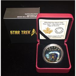 2016 $20 Star Trek Iconic Star Trek Scenes The City on the Edge of Forever