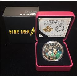 2016 $20 Star Trek Iconic Star Trek Scenes The Trouble with Tribbles