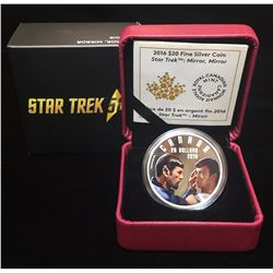 2016 $20 Star Trek Iconic Star Trek Scenes Mirror Mirror