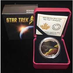 2016 $20 Star Trek Enterprise