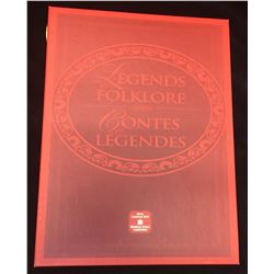 2001 50-Cents Legends & Folklore 3 Coin Collector Set
