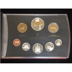 2005 Proof Set 40th Anniversary of Canada's National Flag