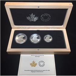 2015 Bald Eagle Fractional Coin Proof Set (1oz, 1/2oz, 1/4oz Only)