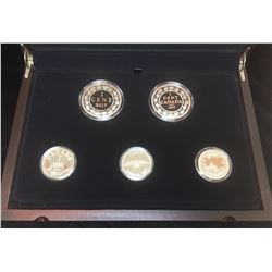 2017 Legacy of the Penny Five-Coin Set