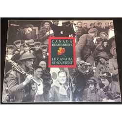 Canada Remembers Medallion Set