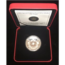 2004 $1 Special Edition Proof Silver Dollar Poppy