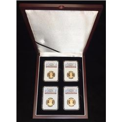 2015-S $1 U.S. Preseidential Proof Set NGC PF 69 Ultra Cameo Early Releases 4-Coin Set