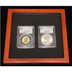 2015 John F. Kennedy Coin and Chronicles Set PCGS PR 69/MS 69 First Strike