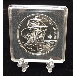 2004 Canada $1 400th Anniversary of the First French Settlement in North America