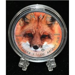 2016 1oz $5 Wildlife - Red Fox
