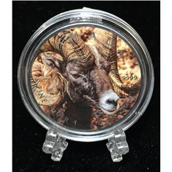 2016 1oz $5 Wildlife - Bighorn Sheep