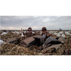 ONE DAY MISSOURI SNOW GOOSE HUNT – 1 YOUTH & 1 ADULT