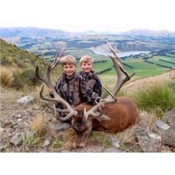 4-DAY NEW ZEALAND RED STAG & CHAMOIS HUNT FOR TWO HUNTERS