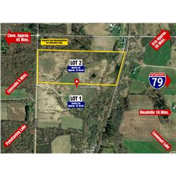 LOT 2 OF 3 NORTH PARCEL APPROX. 53 ACRES