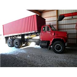 1973 GMC Truck With 18' Scotts' Grain Dump