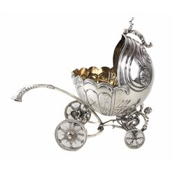Continental .900 Silver Carriage or Bowl