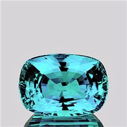 Natural Blue Zircon 2.60 Ct {Flawless-VVS1}