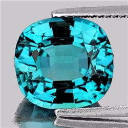 Natural Intense Blue Zircon 4.08 Ct  {Flawless}