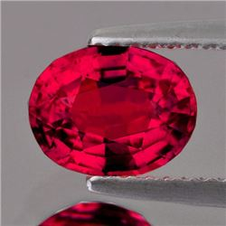 Natural Burma Pigeon Blood Red Spinel 6x5 MM