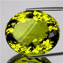 Natural Green Gold Lemon Quartz 71.53 Cts - FL