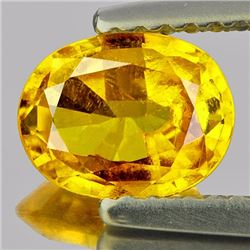 Natural Golden Yellow Sapphire 1.32 Cts