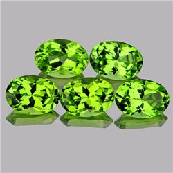 Natural AAA Green Peridot 7x5 MM - FL