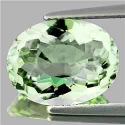 Natural Green Amethyst 6.20 Cts - VVS