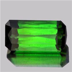 Natural Neon Chrome Green Tourmaline 4.92 ct - VVS