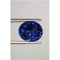 Natural Untreated Royal Blue Sapphire 12.48 Cts -  GRS