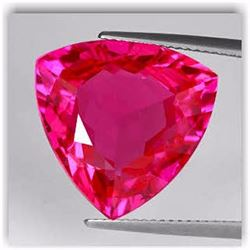 Natural Trillion Red Topaz 8.28 Carats - VVS