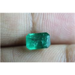Natural Emerald 1.01 Carats - no Treatment