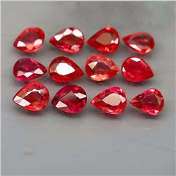 Natural Red Sapphire 4.00 Cts