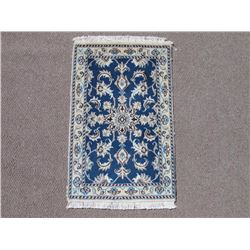 Admirable Premium Quality Wool/Silk Persian Nain 2x3