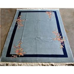 Beautiful Large Handmade Art Deco Nepalese Rug