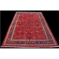 LARGE QUITE STUNNING HANDMADE AUTHENTIC PERSIAN MASHHAD