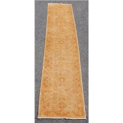 Simply Beautiful Sand Toned Peshawar Chobi Runner 14ft