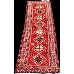 Fine Quality Handmade Semi Antique Turkish Sarab Runner 10ft
