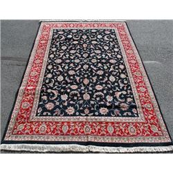 ABSOLUTELY STUNNING HANDMADE KASHAN DESIGN RUG
