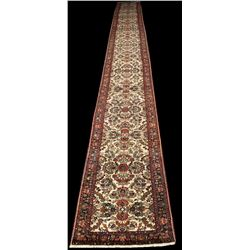 Authentic Persian 26' Runner, Extremely Rare ""