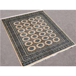 Highly Detailed Handmade Bokhara Rug 8x7