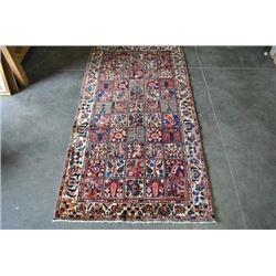 Finely Done Hybrid Design Persian Bakhtiari Runner