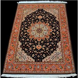 Mesmerizing Persian Tabriz With Silk