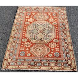 BEAUTIFUL HANDMADE KAZAK DESIGN RussiaN RUG